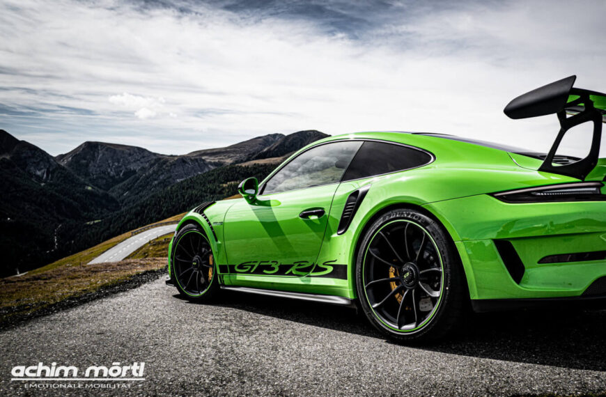 Porsche GT3 RS 3 mit Achim Mörtl